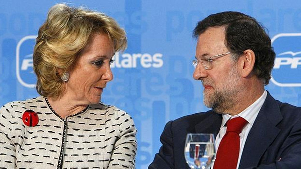 Aguirre no será candidata si el PP pone una gestora en Madrid