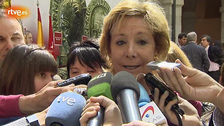 """Aguirre, a los que critican su modelo autonómico: """"No soy monedita de oro, digo lo que pienso"""""""