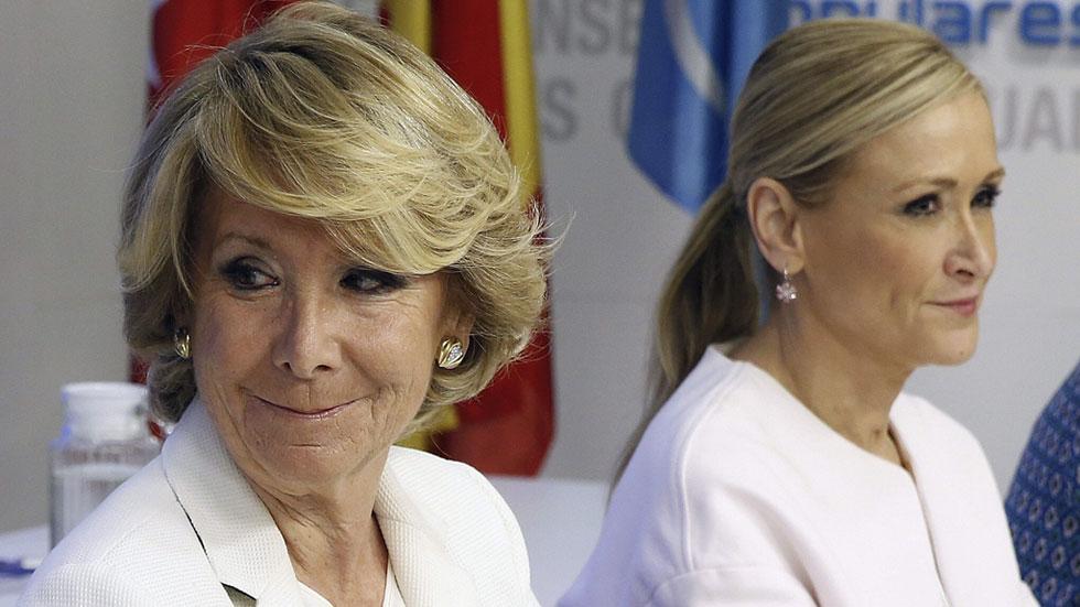 Aguirre no se presentará a la reelección para presidir el PP en la Comunidad de Madrid