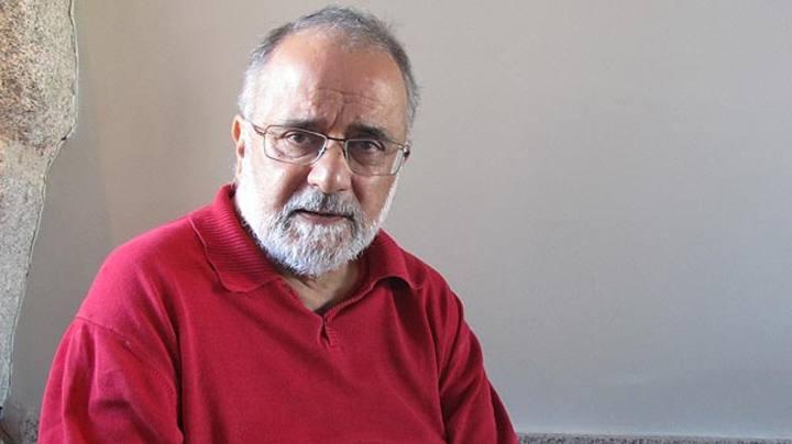 Ahmed Rashid, periodista y escritor paquistaní, durante la entrevista en Madrid