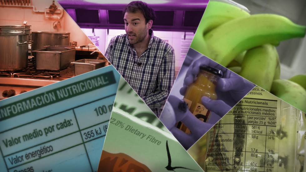 Aitor Sánchez: las etiquetas de los envases