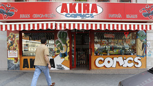 Akira Cómics, la mejor tienda de cómics del mundo está en Madrid