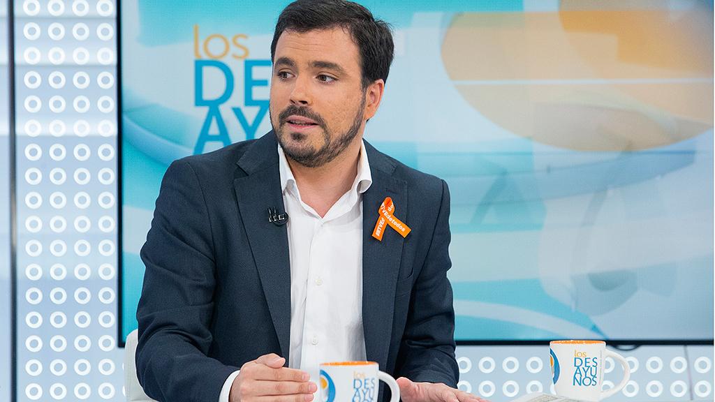 """Alberto Garzón: """"Sin Ciudadanos salen las cuentas"""""""