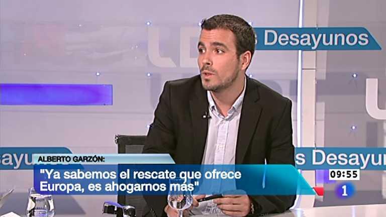 Los desayunos de TVE - Alberto Garzón, diputado de Izquierda Unida