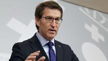 Ir al VideoAlberto Núñez Feijóo defiende la continuidad de Rajoy como candidato