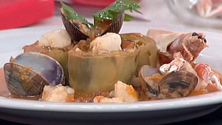 Saber Cocinar - Alcachofas a la marinera