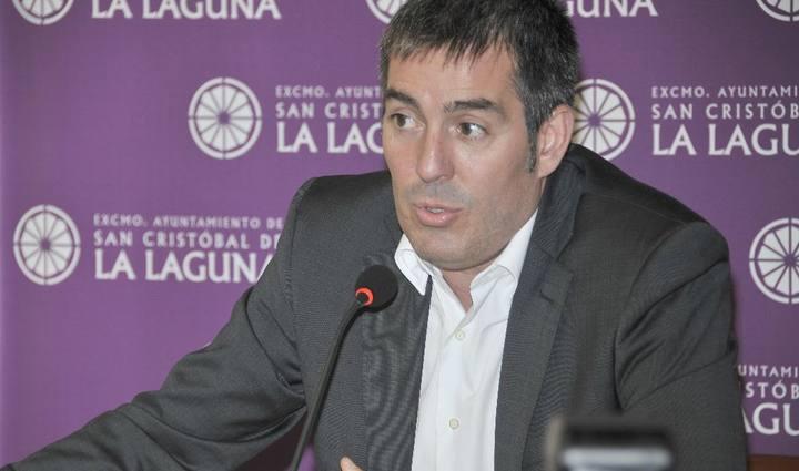 El alcalde de La Laguna, Fernando Clavijo, de Coalición Canaria.