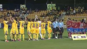 Alcorcón, Almería, Sabadell y Mirandés siguen adelante en la Copa del Rey