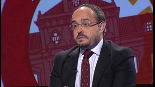 Aquí Parlem - Alejandro Fernández, nou portaveu del grup parlamentari del Partit Popular de Catalunya