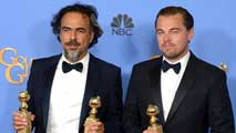 Ir al VideoAlejandro González Iñárritu fue uno de los grandes vencedores de los Globos de Oro