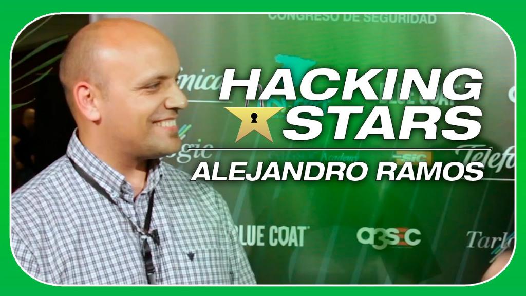 Alejandro Ramos, hacker y desde hace un año responsable de seguridad digital del grupo Telefónica