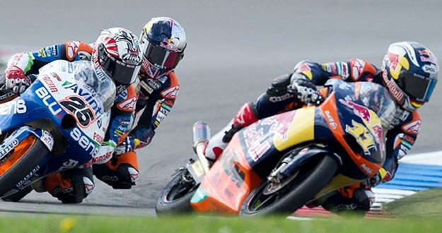 El alemán Sandro Cortese, ganador en el GP de Alemania y
