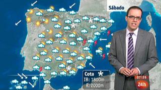 Alerta máxima en Canarias por viento y oleaje