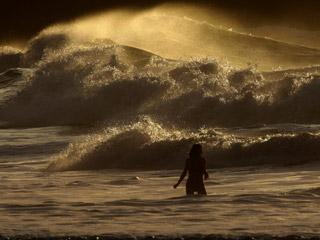Alerta roja en Galicia y País Vasco por fuertes vientos