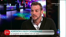 Alex Casademunt agredido en una discoteca