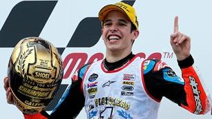 Alex Márquez gana el Mundial de Moto3 y desata la locura en Cervera