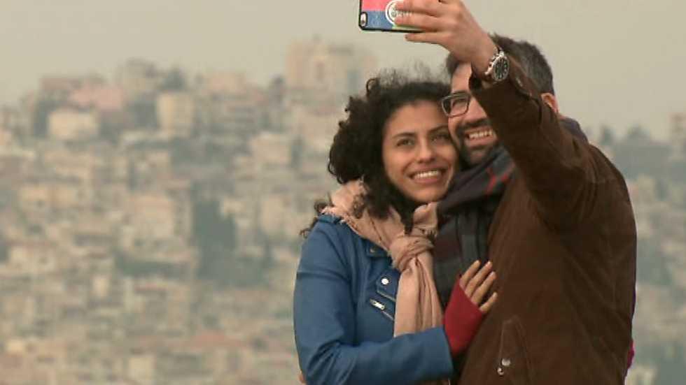 Buenas Noticias TV - Alex Sampedro en Israel