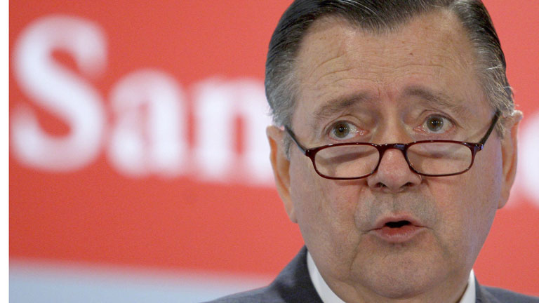 El Gobierno indulta al consejero delegado del banco Santander, Alfredo Sáenz