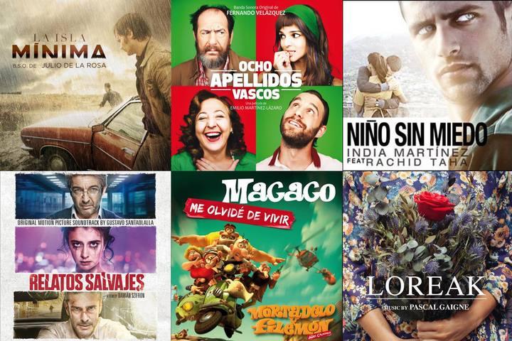 Algunos de los candidatos musicales de los Goya 2015