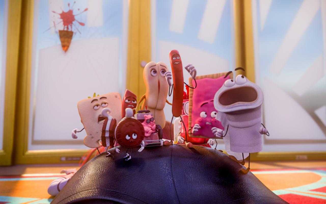 Algunos de los protagonistas de 'La fiesta de las salchichas'