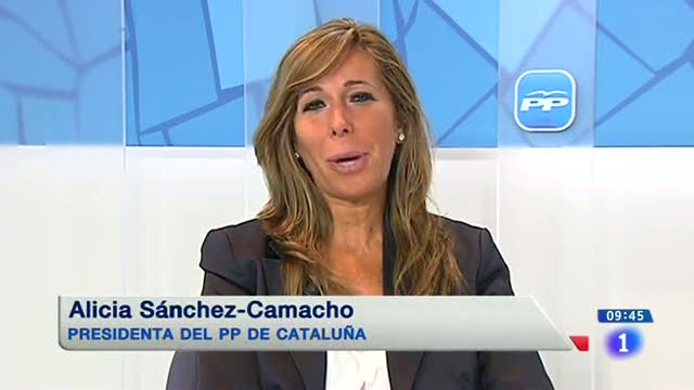 """Ir al VideoAlicia Sánchez-Camacho: """"Mas se va a ver obligado a adelantar las elecciones"""""""