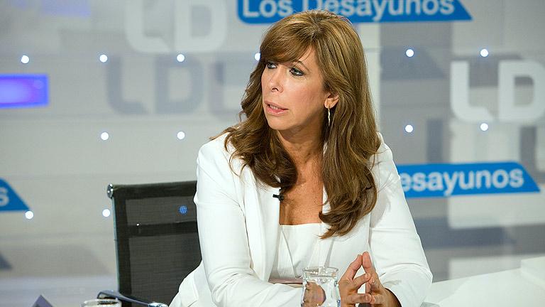 Alicia Sánchez-Camacho (PP), partidaria de que se investiguen las responsabilidades de los que intervinieron en Bankia
