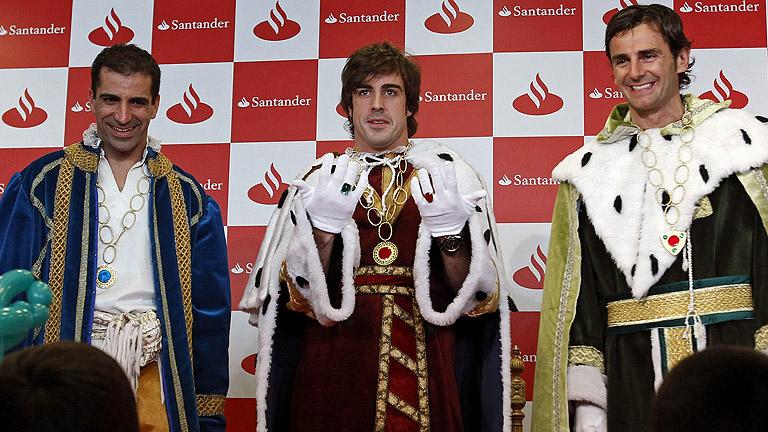 Alonso, De la Rosa y Gené, pajes de los Reyes