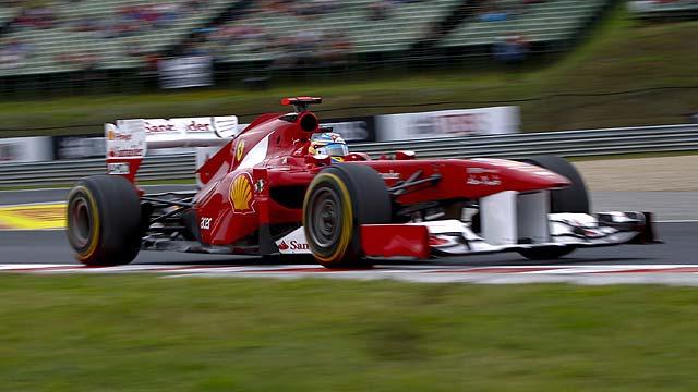 Alonso, en uno de sus circuitos favoritos