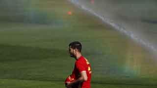 Álvaro Morata y Chiellini, dos excompañeros y ahora rivales