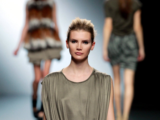 Amaya Arzuaga en Madrid Cibeles Fashion Week