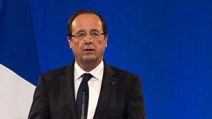 Hollande pide sanciones más duras contra el régimen de Al Asad