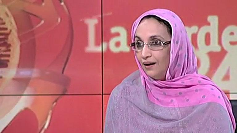 """Aminatu Haidar, sobre el proceso a 24 saharauis """"Es un juicio militar que no ofrece garantías"""""""