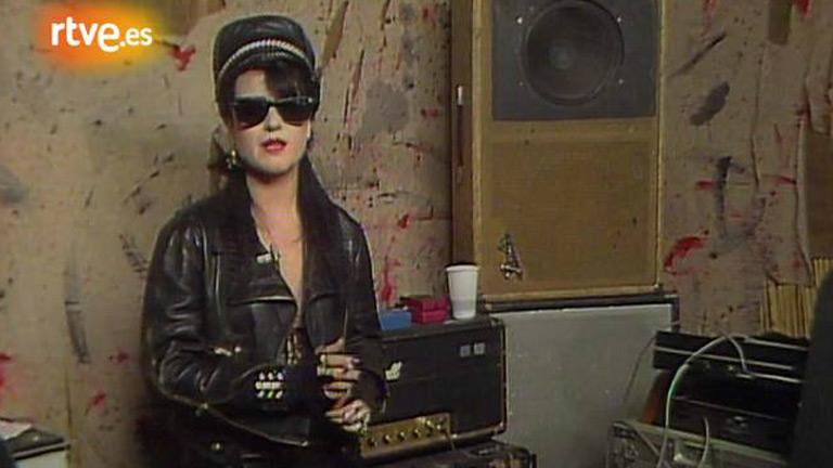 Ana Curra en 'La tarde' (1984)