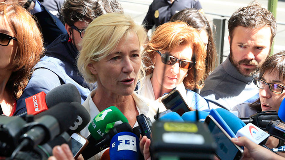 Ana Duato asegura que está tranquila tras declarar por presuntos delitos fiscales
