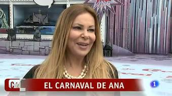 Corazón - Ana Obregón en la Gala Drag Queen del Carnaval