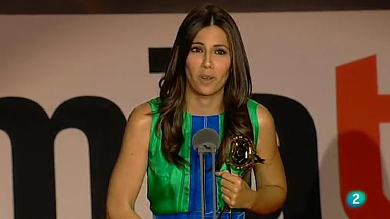 Ana Pastor, premio a la mejor presenta