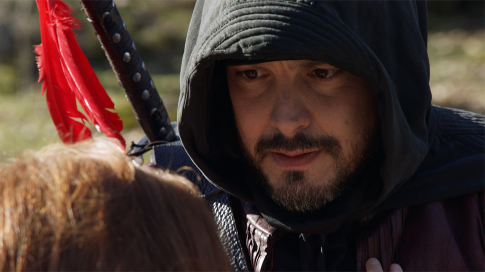 Águila Roja - Anaís descubre que Gonzalo de Montalvo es el Águila Roja