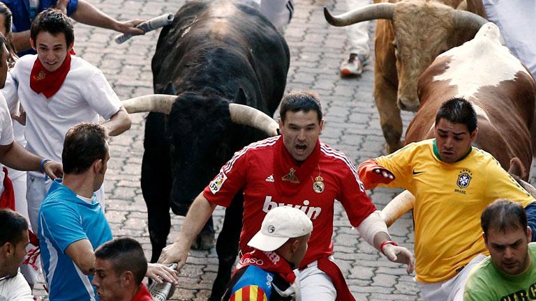 El análisis del séptimo encierro de San Fermín 2012, por Patxi Cervantes