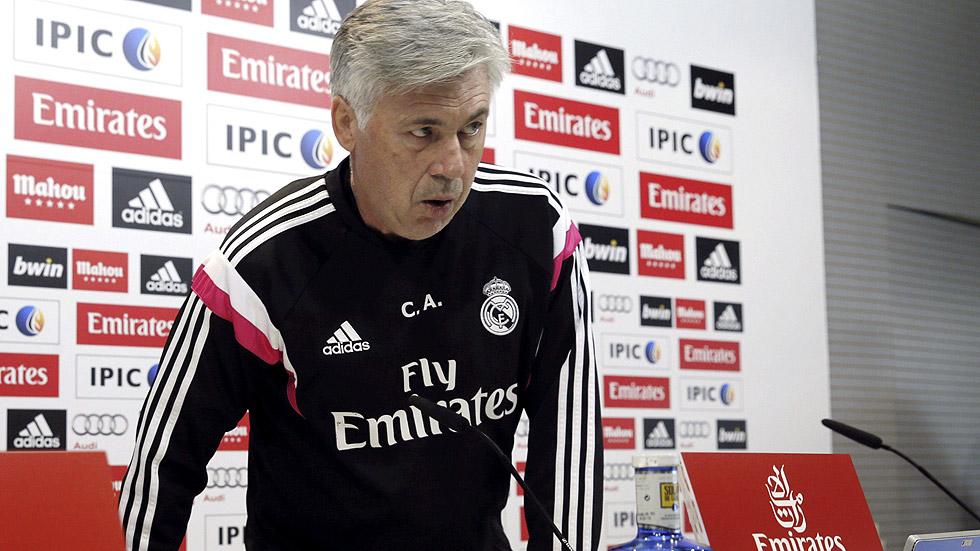 """Ancelotti no ve al equipo """"cansado"""""""