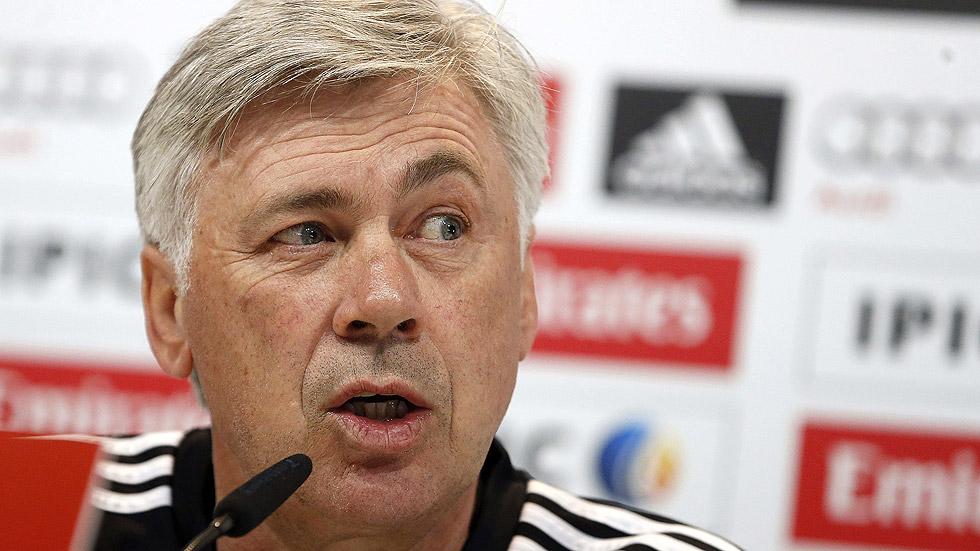 """Ancelotti: """"Tenemos ganas de volver a ganar"""""""