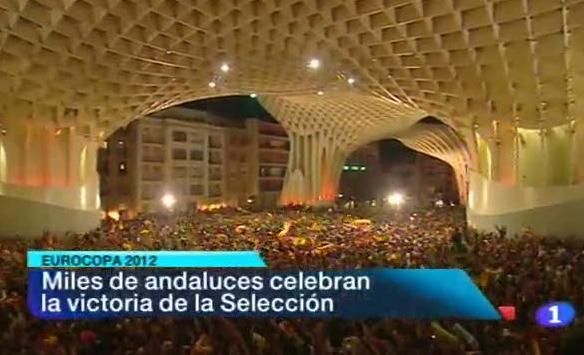 Andalucía en 2' - 02/07/12