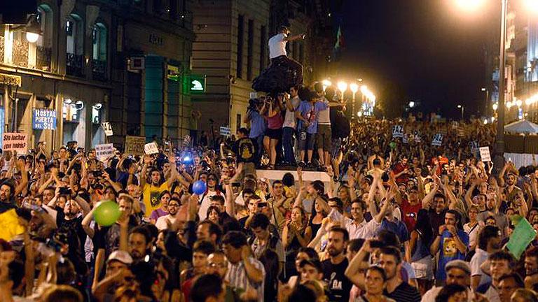 La delegada del Gobierno en Madrid autoriza una concentración en Sol con límite de tiempo