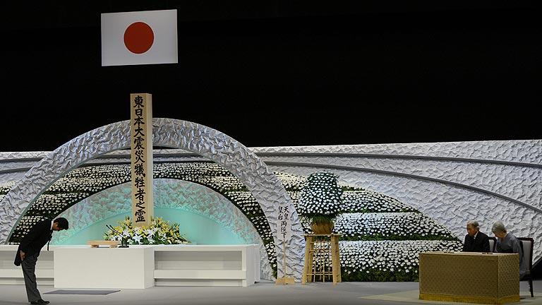 Japón recuerda tres años después a las víctimas del tsunami y de la catástrofe nuclear