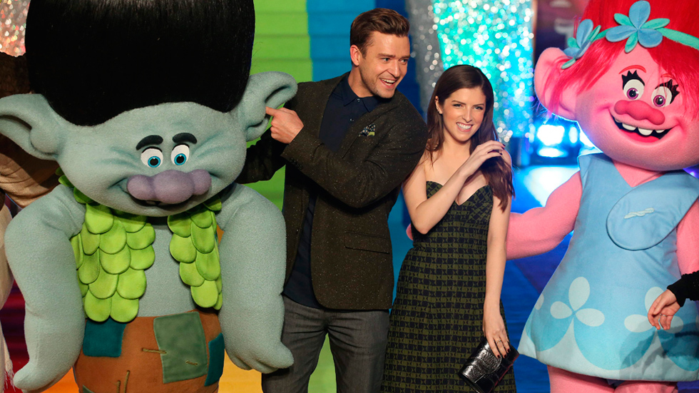 Anna Kendrick y Justin Timberlake hablan sobre sus personajes en 'Trolls'