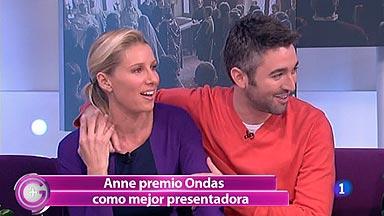 Más Gente - Anne Igartiburu gana el Premio Ondas a la mejor presentadora