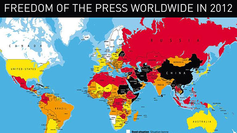 """El año 2011 fue un año """"nefasto"""" para los periodistas, según Reporteros sin Fronteras"""
