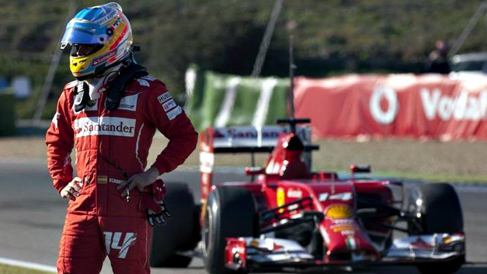 Año 'horribilis' para Fernando Alonso en Ferrari, el último