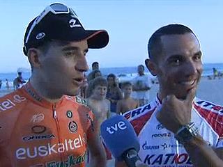 Antón y 'Purito' se juegan el peinado por la Vuelta