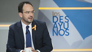 Los desayunos de TVE - Antonio Hernando, portavoz del PSOE en el Congreso