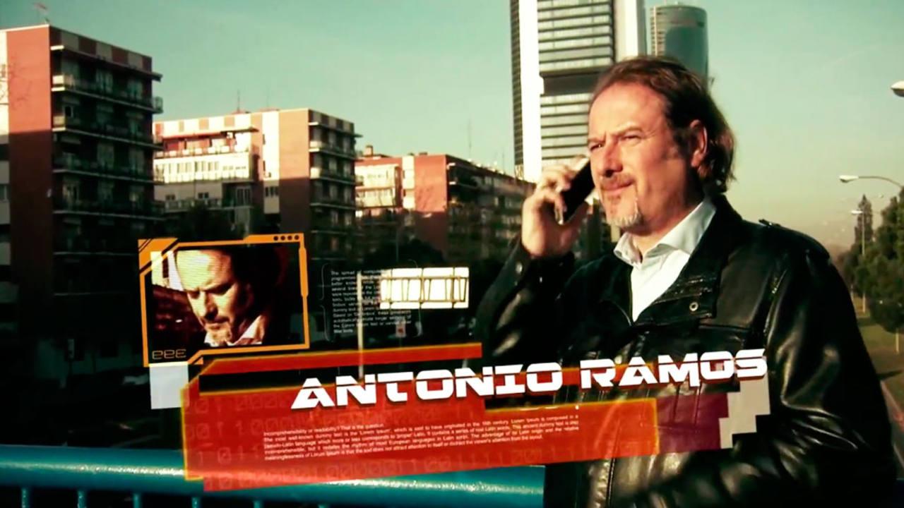 Antonio Ramos, presentador de Mundo Hacker